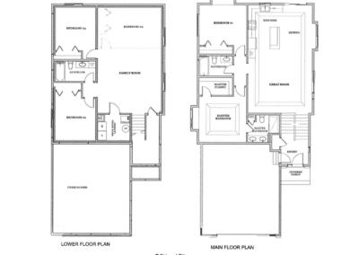 The Elite - 2 stall Floor Plan Drawing