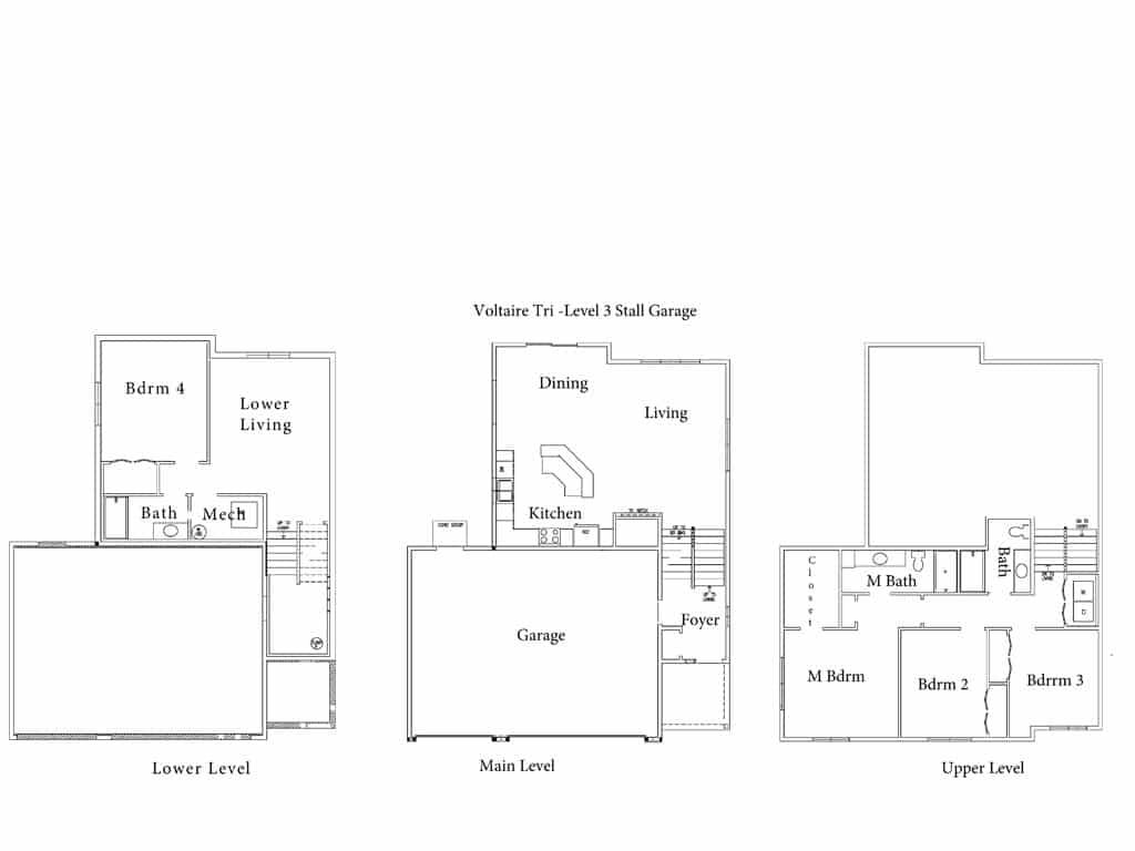 Voltaire-Tri-Level-3-Stall-Garage-Floor-Plan